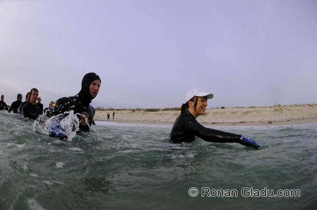 Marche Aquatique ou Longe Côte : une activité complémentaire du surf
