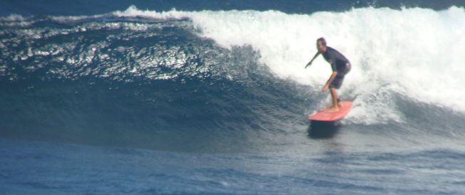 Surf et Mucoviscidose : Olivier surfe 3 à 5 fois par semaine pour améliorer sa fonction respiratoire