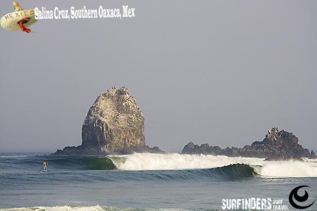 Mexique : il faudra payer les locaux pour surfer le spot de Salina Cruz