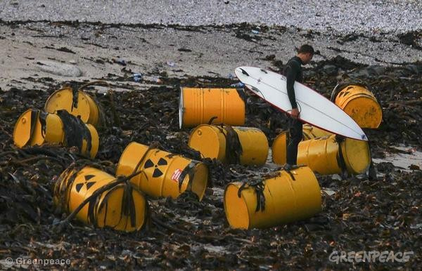 Environnement : les surfeurs face aux risques des centrales nucléaires