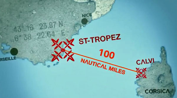 Le défi de Kai Lenny : rallier St-Tropez à Calvi en SUP, kite et wind surf