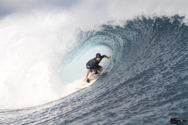 CLOUDBREAK – Tavarua : la gauche ultime