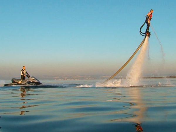 Le «Flyboard» débarque sur nos côtes (manquait plus que ça…)