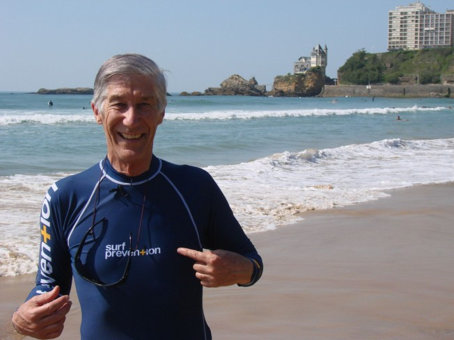 Joël de Rosnay: «Je surferai jusqu'à 95 ans. Après je me mettrai au Golf…»