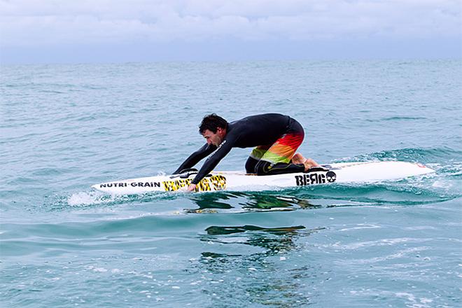 Joel Parkinson participera à la course de paddleboard de Molokai à Oahu