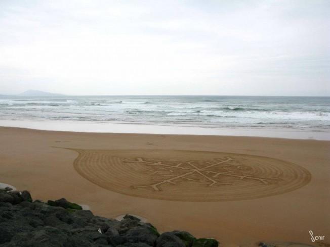 L'Odyssée du Flocon à La Vague a fait escale à Biarritz