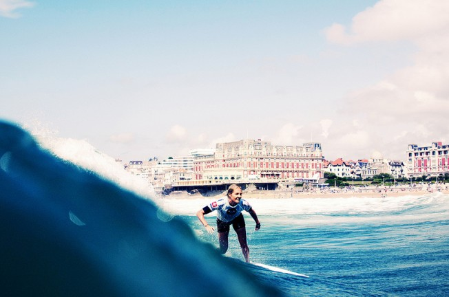 Roxy Pro 2012 : Stephanie Gilmore Reine du Surf à Biarritz !