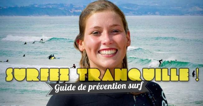 Le Ministère des Sports annonce un Guide «Prévention Surf»