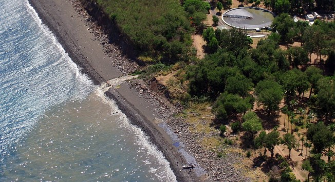 Risque requin à La Réunion et environnement : rejets en mer et turbidité de l'eau