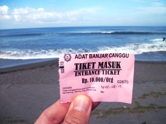Oldman – Batubolong : le premier spot de surf payant à Bali…