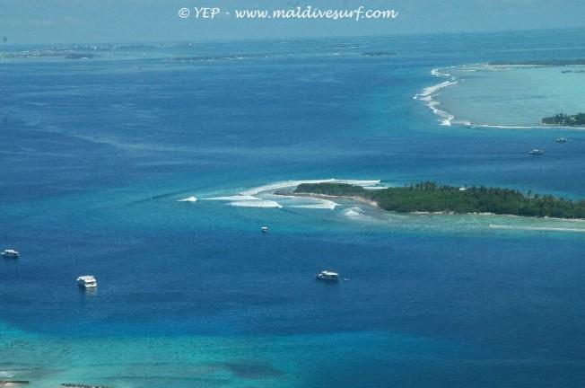 Maldives: risque de privatisation des meilleurs spots de surf
