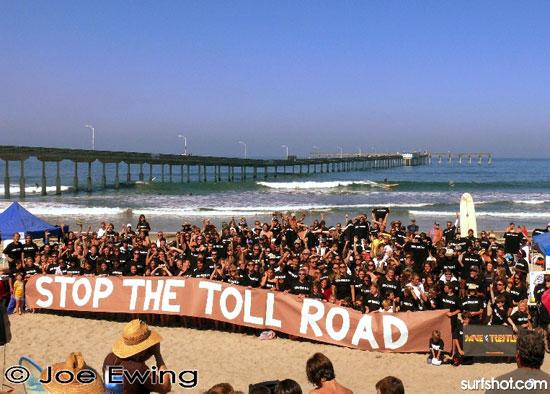Comment les surfeurs ont empêché la construction d'une autoroute à Trestles