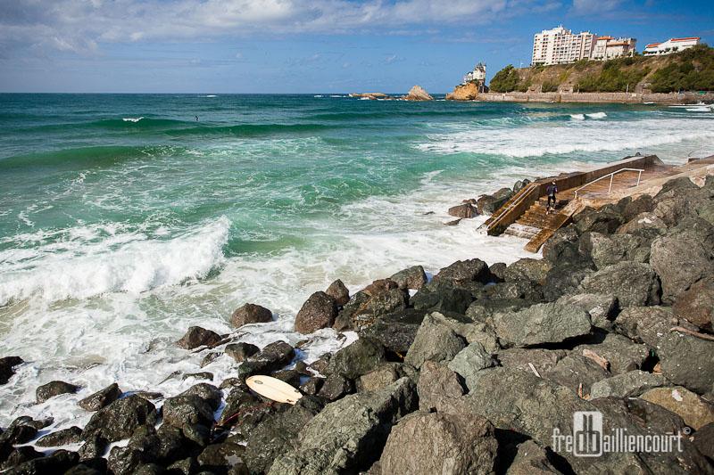 Calendrier Maree Biarritz.Cote Des Basques A Biarritz Attention A La Maree Montante