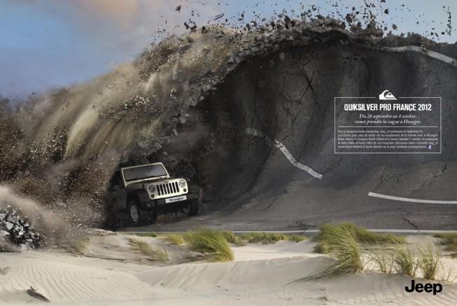 Quiksilver Pro France : une compétition de surf écolo sponsorisée par Jeep