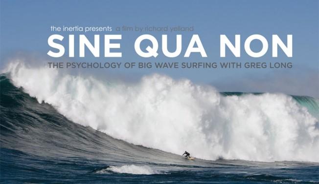 Sine Qua Non: Psychologie du Surf de Grosses Vagues par Greg Long