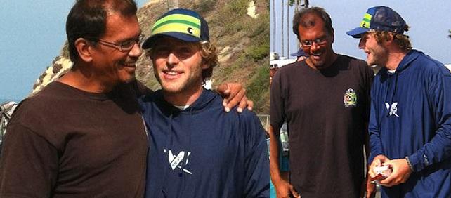Un Surfeur Français va Donner un Rein à un Surfeur Hawaiien