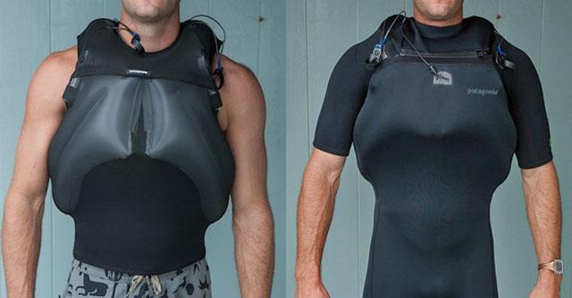 Innovation: une veste gonflable Patagonia pour le surf de grosses vagues