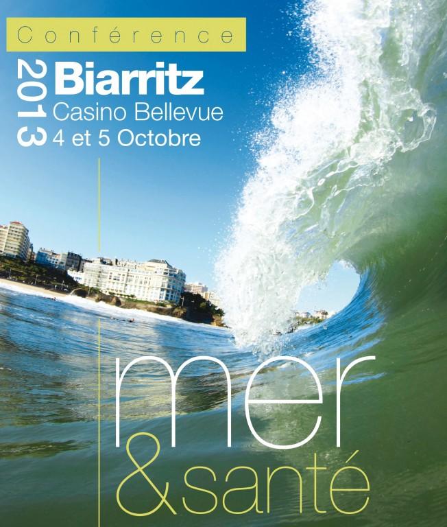 Conférence Mer & Santé – Biarritz – 4 et 5 Octobre 2013