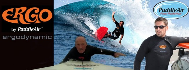 Paddleair: un top à airbag contre les douleurs aux côtes du surfeur