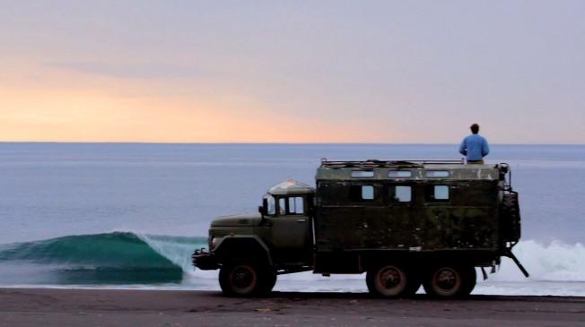 Surf Trip en Russie sur la Péninsule de Kamchatka
