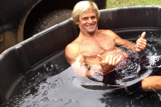 Joakim Noah fait découvrir les bains glacés à Laird Hamilton