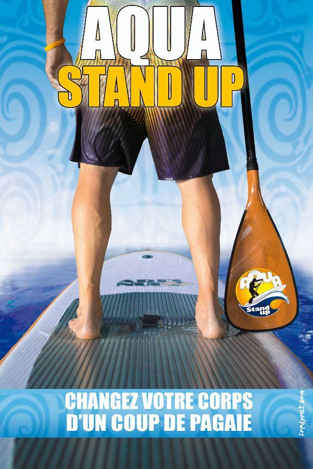 Aqua Stand Up: découvrez le SUP en piscine !