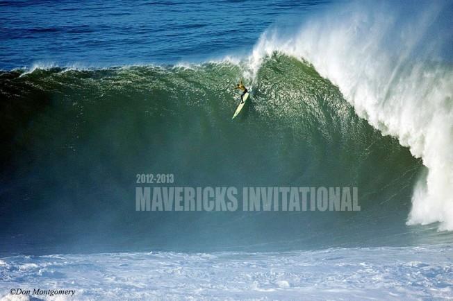 Mavericks Invitational Live : du très gros surf attendu dimanche