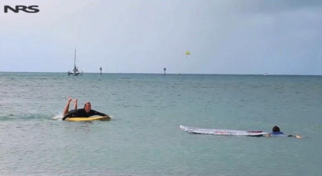 Premiers Secours: un Stand-Up Paddle peut vous sauver la vie !