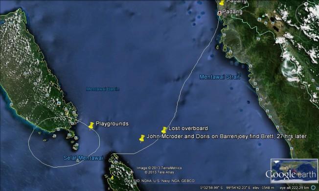 L'Histoire incroyable du Surfeur perdu en Mer aux Mentawaii