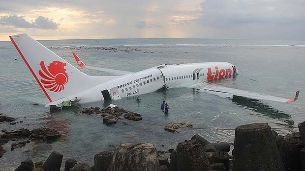 Accident d'Avion à Bali : un Boeing de Lion Air se crashe en Mer