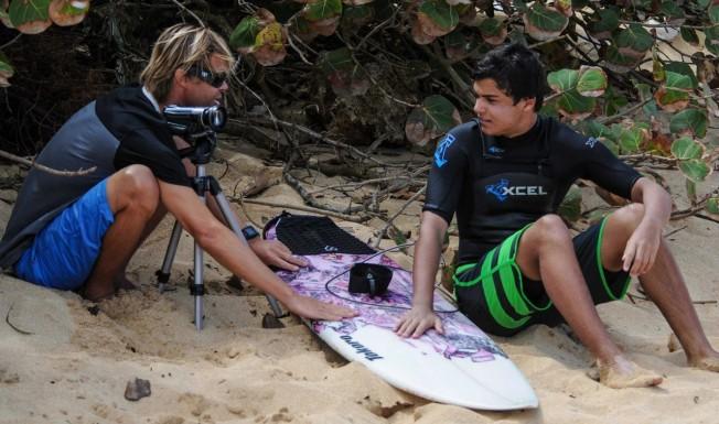 Didier Piter lance le 1er Site de Surf Coaching en ligne