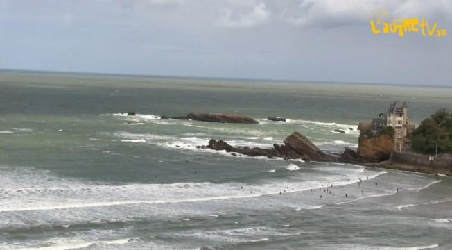 Fermeture des Plages et Interdiction de surfer à Anglet…