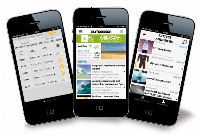 Appli Surf Session: Surfez sur l'Actu avec votre Smartphone !