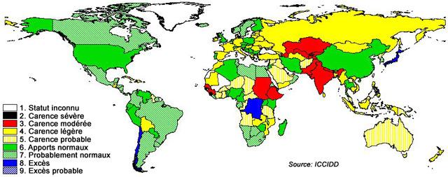 La Carence en Iode: une Réalité des Pays Développés