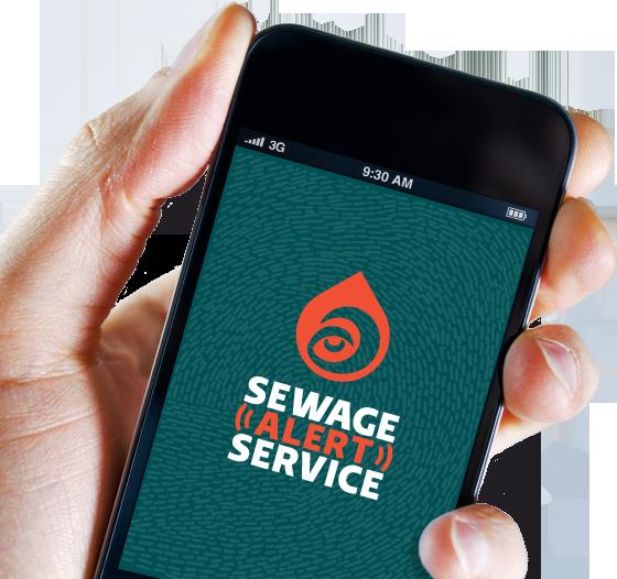 Sewage Alert Service: une Appli qui signale les déversements d'égouts