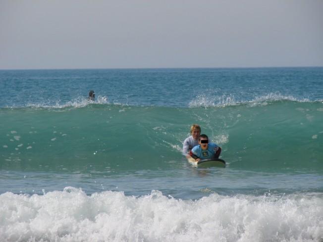François Gabart s'engage pour le Surf accessible à Tous