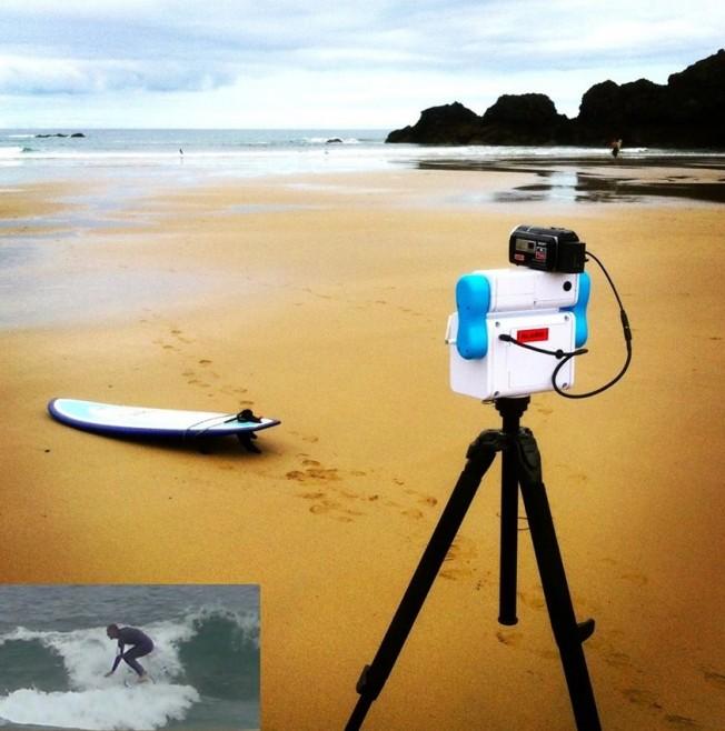Filmer du Surf depuis la Plage avec un équipement automatique