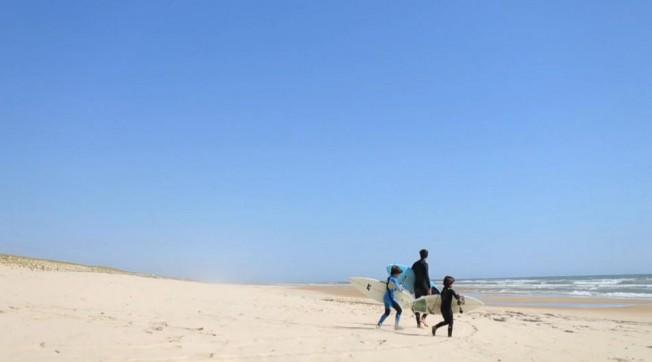 Vivre, Travailler et Surfer en Famille dans les Landes