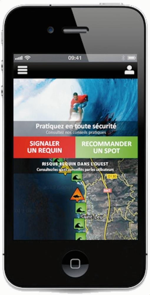 Wave Réunion: une Application pour réduire le Risque Requin