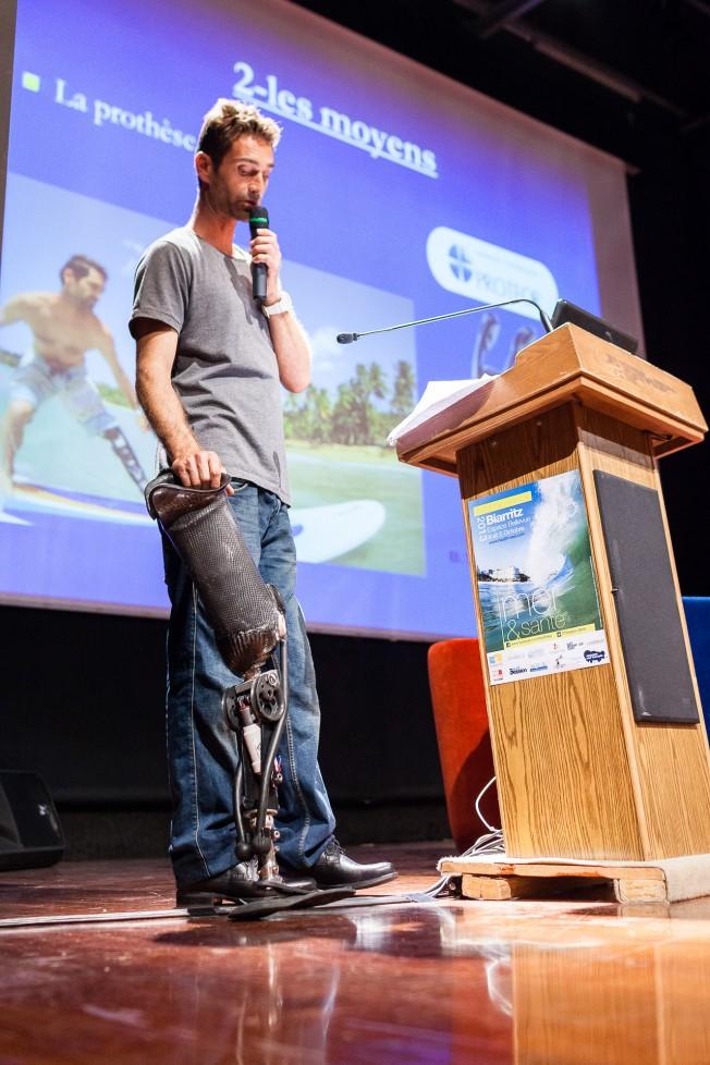 Eric Dargent: son Témoignage à la Conférence Mer & Santé