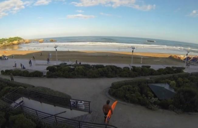 Le Quotidien du Surfeur Urbain à Biarritz