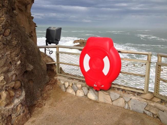 APPEL À TÉMOIN: une Bouée de Sauvetage volée à Biarritz