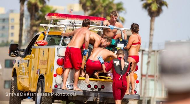 Un Orage à Venice Beach fait un mort et 12 blessés
