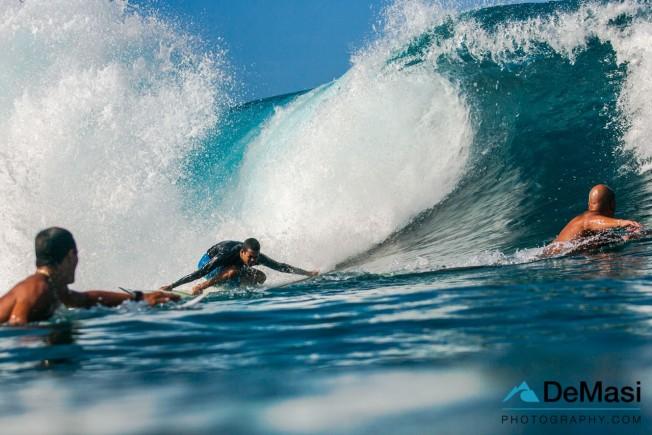Les Sensations du Surfeur Aveugle