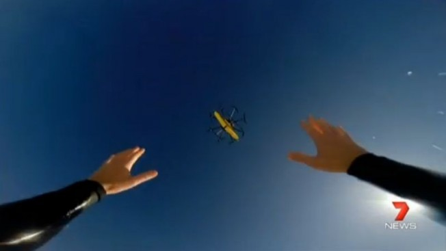 drone sauvetage