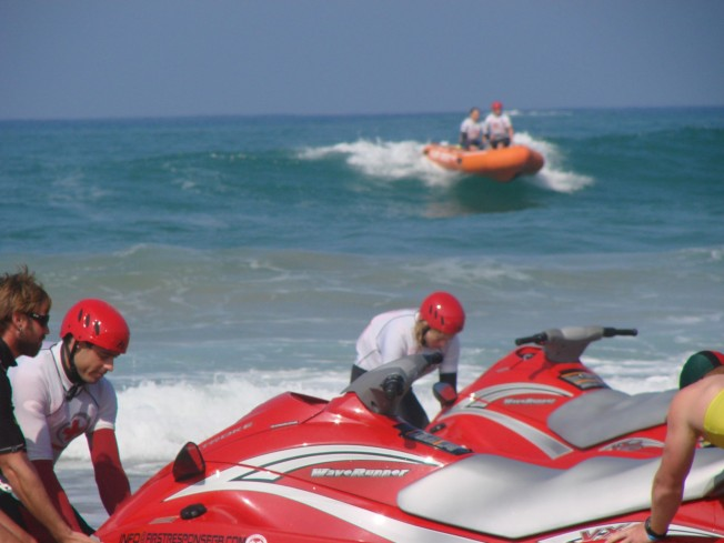 jet ski inflatable rescue boat