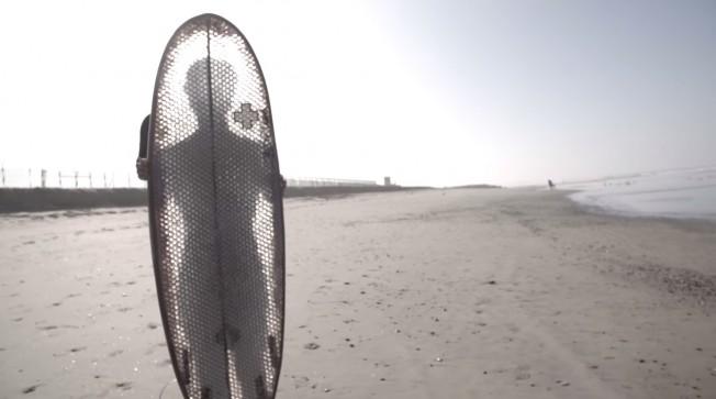 planche surf carton