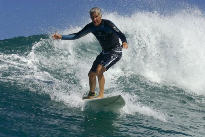 joel de rosnay surf