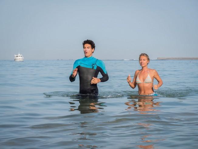 marche aquatique cote basque