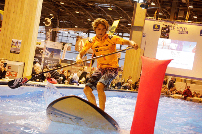 Salon nautique le sup en vedette le surf absent blog for Salon nautisme paris